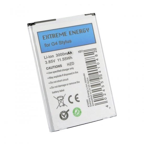 Extreme Energy Li-Ion 3000mAh komp. mit LG G4 Stylus