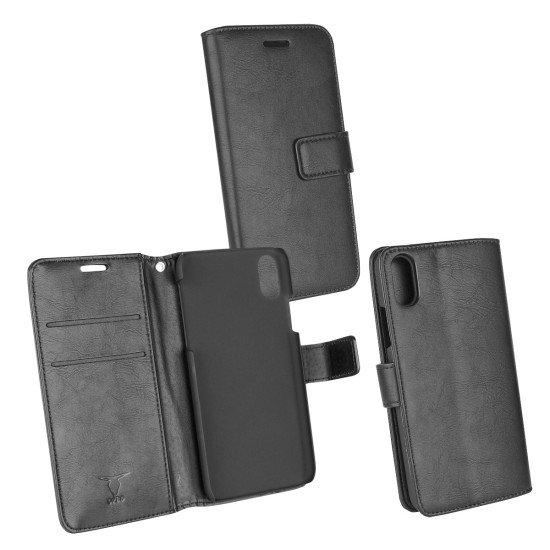 PU Tasche Diary Business schwarz komp. mit Apple iPhone X