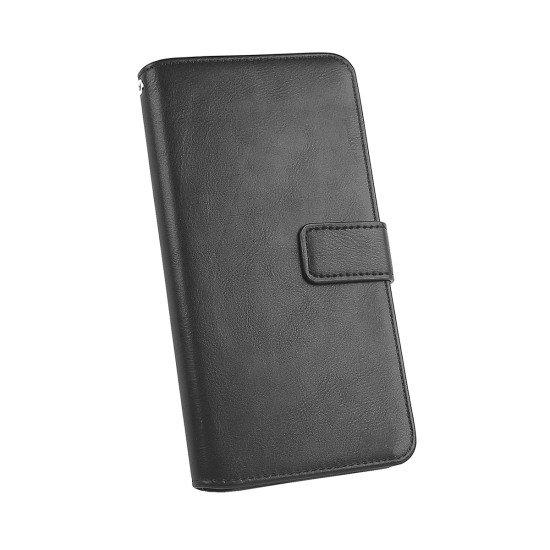"""PU Tasche Diary Business schwarz komp. mit Apple iPhone 11R - 5.8"""""""