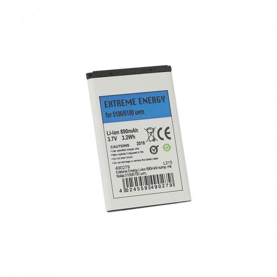 Extreme Energy Li-Ion 890mAh komp. mit Nokia 5100/6100 uvm.