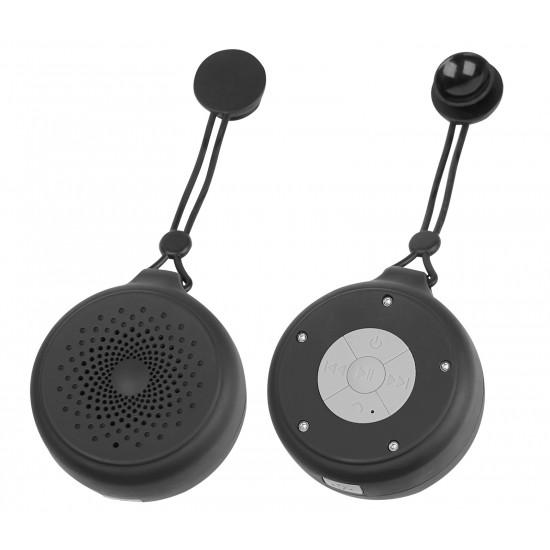 Essential Drahtloser IPX4 Lautsprecher Luva sw/gr Spritzwassergeschützt, Freisprecheinrichtung, FM