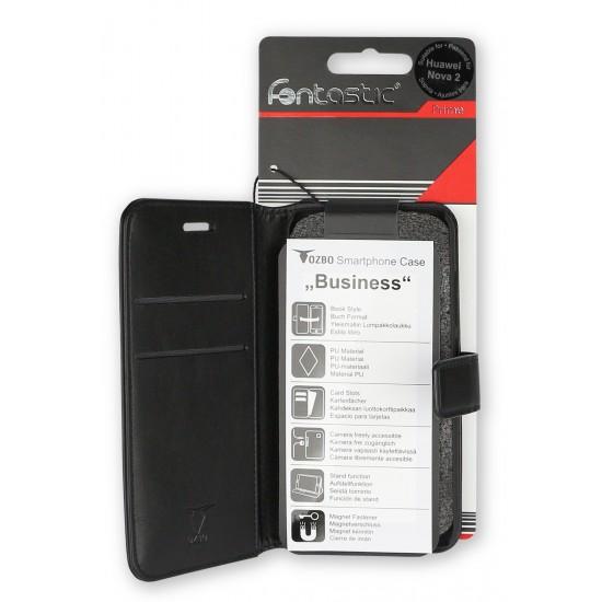 PU Tasche Diary Business schwarz komp. mit Apple iPhone XS Max