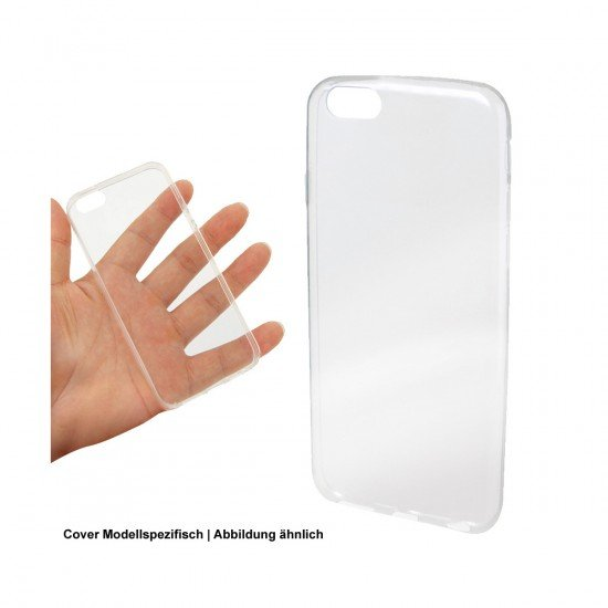 Softcover Clear Ultrathin komp. mit Huawei Y6 (2017)
