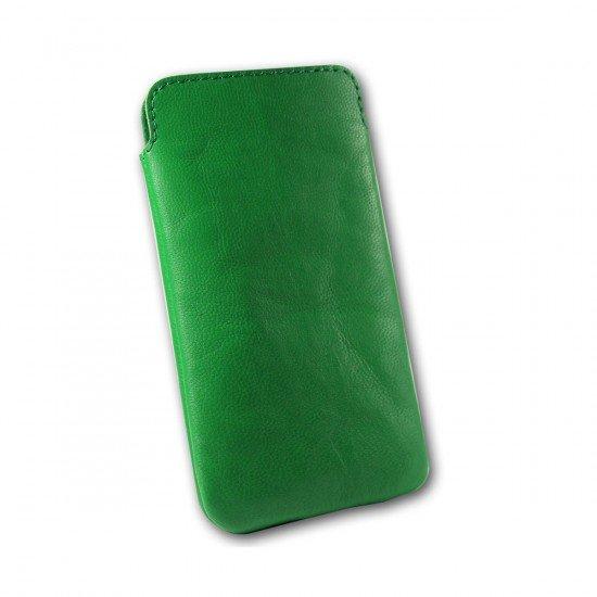 Ledertasche Gubo ML grün 124x59x8mm