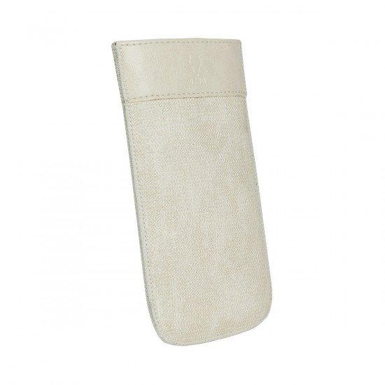 PU Tasche Tesso XL creme 137x71x10mm